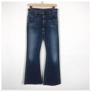 Citizens of Humanity Lazy Low Slung Wide Leg Jeans